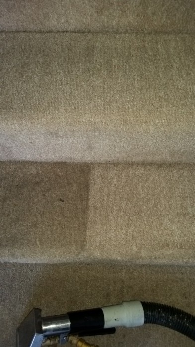 staircase carpet cleaning