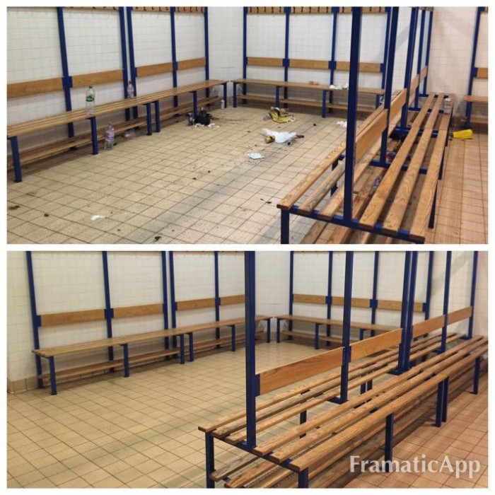 sport event cleaning