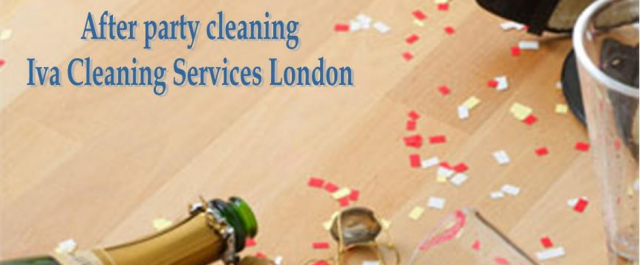 party cleaners, after- party service, london cleaners