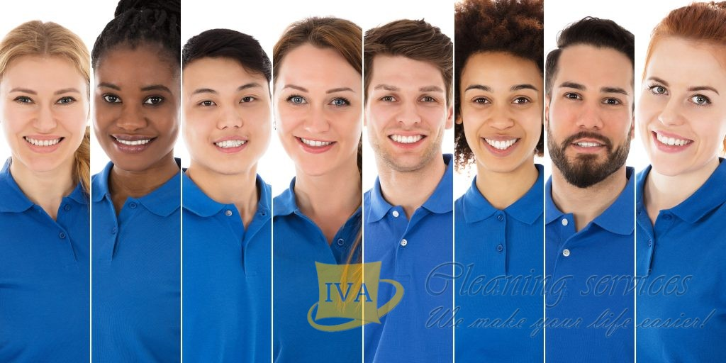 Iva Cleaning London team