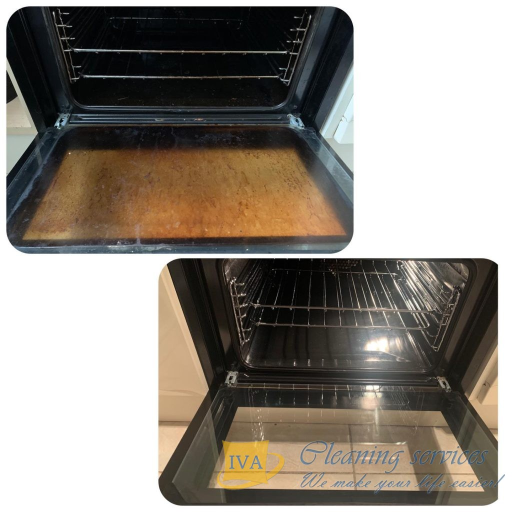 oven cleaning with end of tenancy clean london