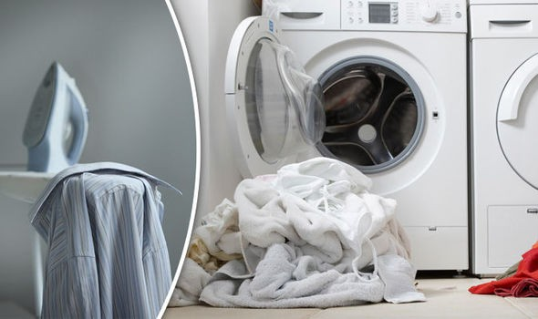 wash and ironing service in London